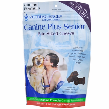 Canine PLUS Senior Soft Chews (60 BITE-SIZED CHEWS)