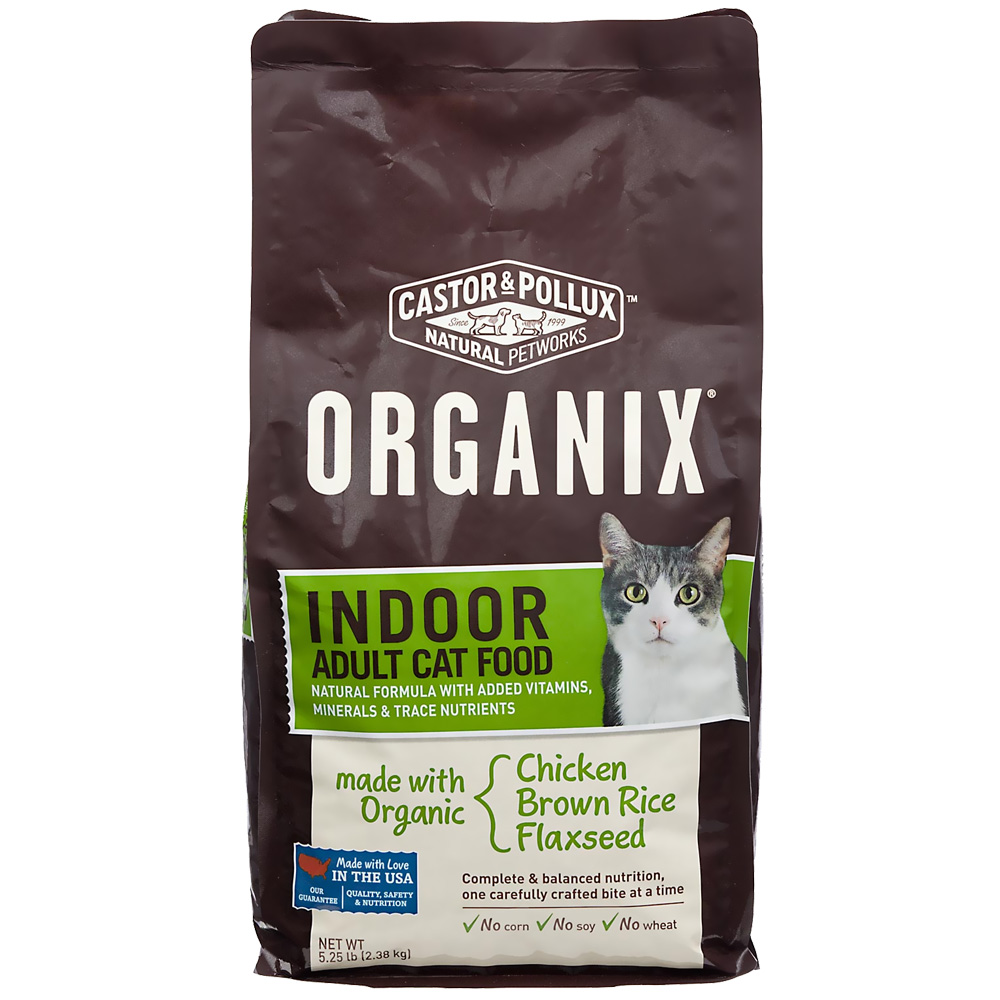 Castor & Pollux Organix Indoor Adult Cat Food (5.25 lbs)