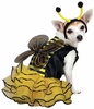 Casual Canine Bee Mine Costume - Yellow