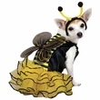 Bee Mine Dog Costume Yellow - XSMALL