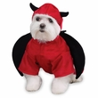 Casual Canine Devil Dog Costume - LARGE