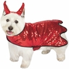 Zack & Zoey Sequin Devil Dog Costume - MEDIUM
