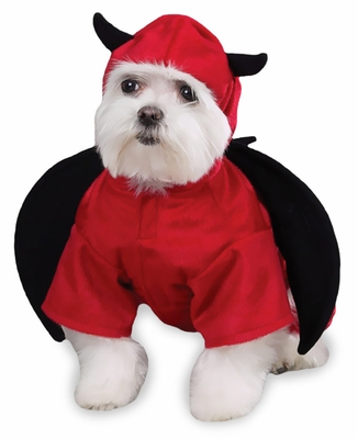 Casual Canine Devil Dog Costume - XSMALL