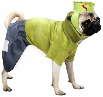 Casual Canine Frankenhound Costume Green - XLARGE