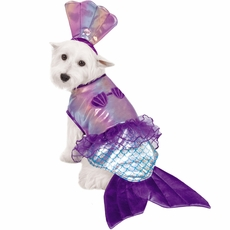Casual Canine Glim-Mermaid Costume