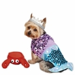 Casual Canine Glim-Mermaid Costume - LARGE