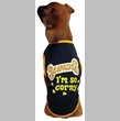 Casual Canine I'm So Corny Tee Black