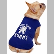 Casual Canine Mind Your Mummy Tee Blue - MEDIUM