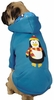Casual Canine North Pole Pals Hoodie Penguin - LARGE