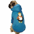Casual Canine North Pole Pals Hoodie Penguin - MEDIUM