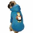 Casual Canine North Pole Pals Hoodie Penguin - X-SMALL