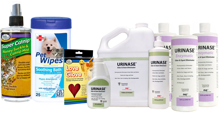 Cat Cleaning / Bath Supplies