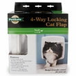 Cat Door 4Way White