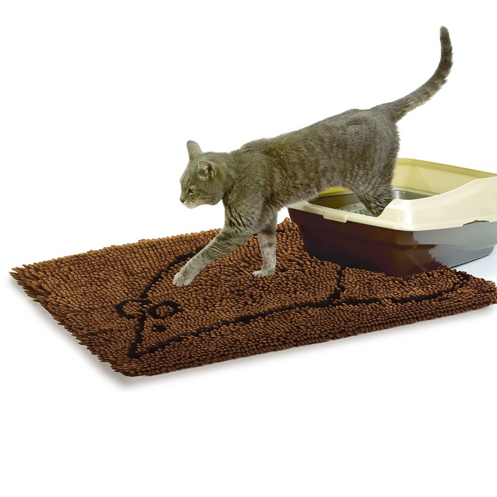 Cat Litter Mat Large Grey