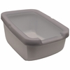 Catit Cat Pan with Rim - Warm Grey