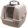 Catit Design Jumbo Hooded Cat Litter Pan - Grey