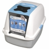 Catit Hooded Cat Litter Pan - Blue