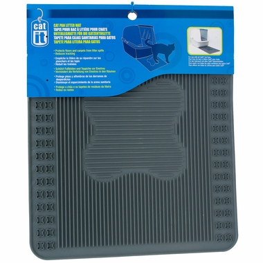 Catit Litter Pan Mat - Grey
