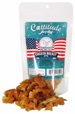 Cattitude Chicken Breast Jerky (3.5 oz)