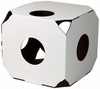 Catty Stacks Designer Cat House - White