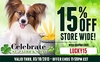 Celebrate St. Patrick's Day! 15% OFF Store Wide!