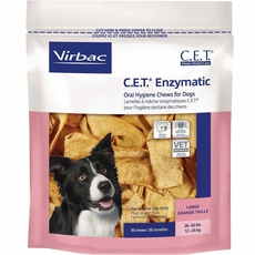 CET Chews for Large Dogs (30 chews)