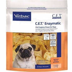 CET Chews for Medium Dogs (30 Chews)