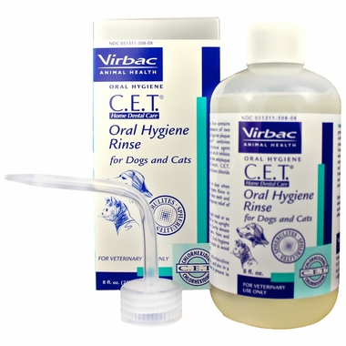 CET Oral Hygiene Rinse (8 oz) by VIRBAC