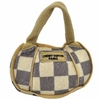 Checker Chewy Vuiton Paris Handbag Plush Toy - Small