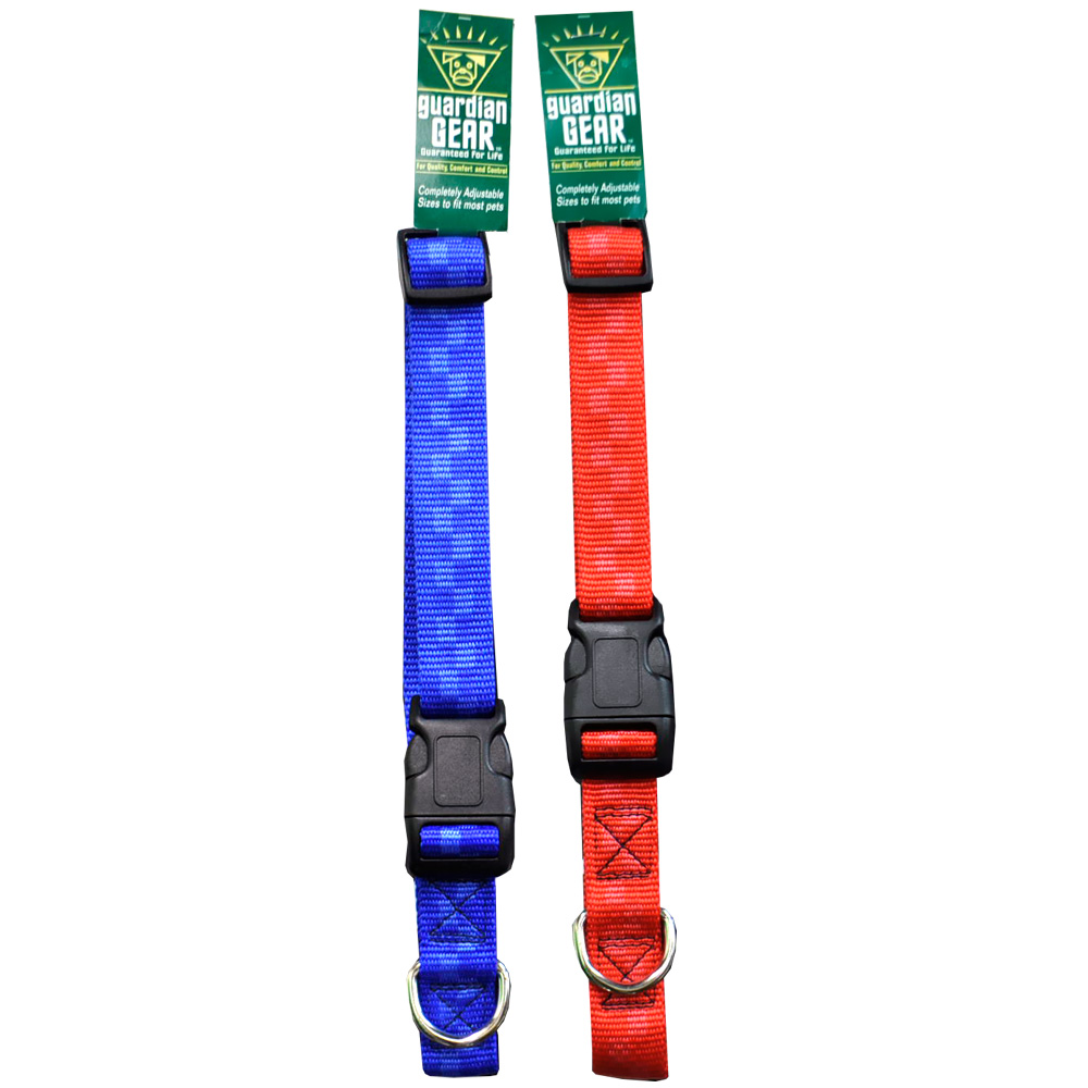 Checkered Nylon Adjustable Collars