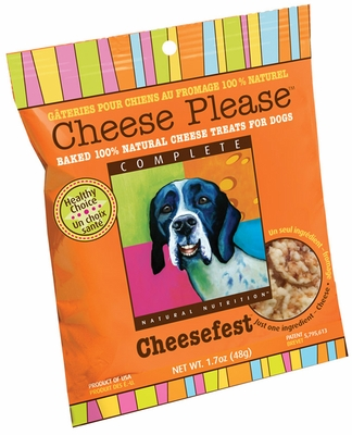 Cheese Please Natural Cheese Treats for Dogs