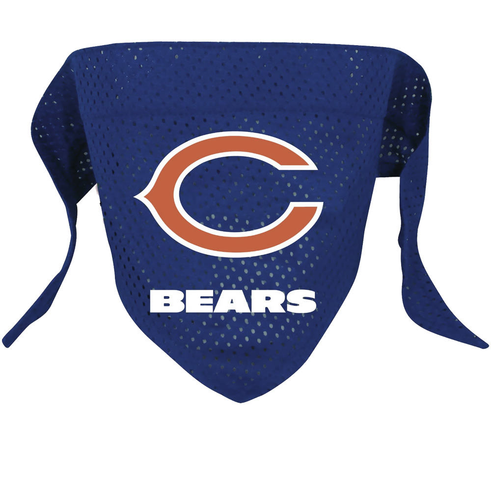 Chicago Bears Dog Bandanas
