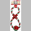 Christmas FIG.8 Cotton Rope w/ Tennis Ball