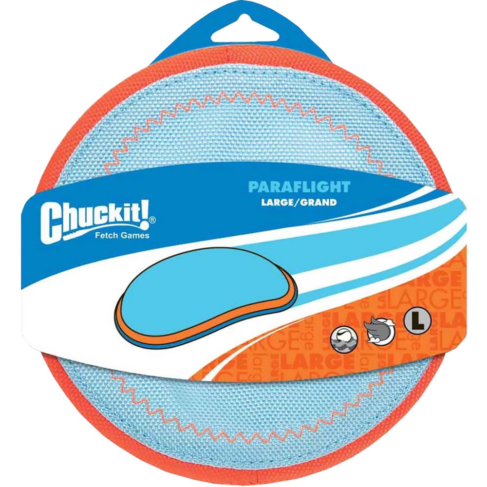 Chuckit! Paraflight Flyer Dog Toy - Large
