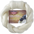 "Chunky Chew Natural Braided Rawhide Ring (8"")"