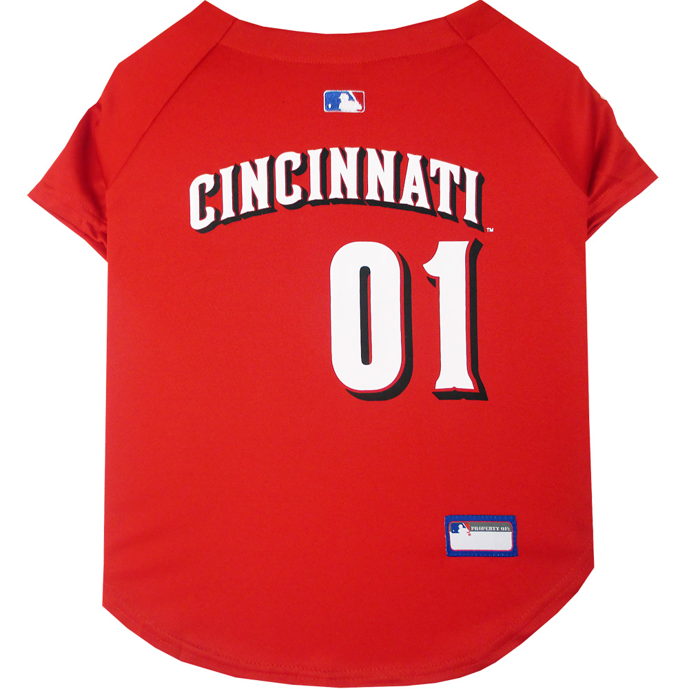Cincinnati Reds Dog Jerseys