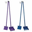 Clean Go Pet Color Sanitary Scoop Rake - Purple
