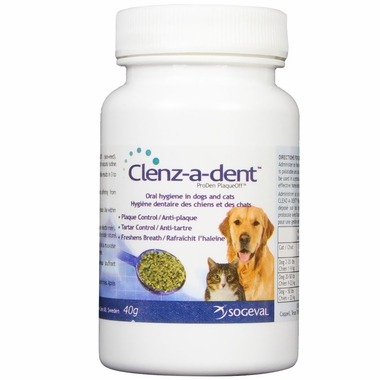 Clenz-A-Dent PlaqueOff Food Additive (40 gm)
