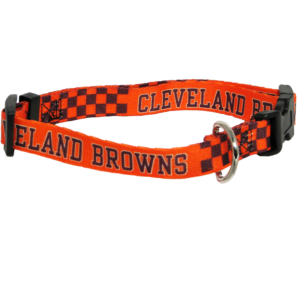 Cleveland Browns Dog Collars & Leashes