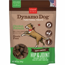 Cloud Star Dynamo Dog Functional Treats - Hip & Joint - Chicken (5 oz)