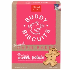 Cloud Star Original Buddy Biscuits Sweet Potato (16 oz)