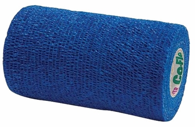 "Co Flex 4"" x 5"" yds - BLUE"