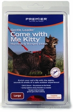 Come with Me Kitty Harness & Bungee Leash - LARGE