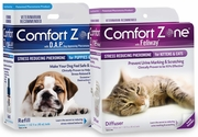 Comfort Zone with Feliway and DAP