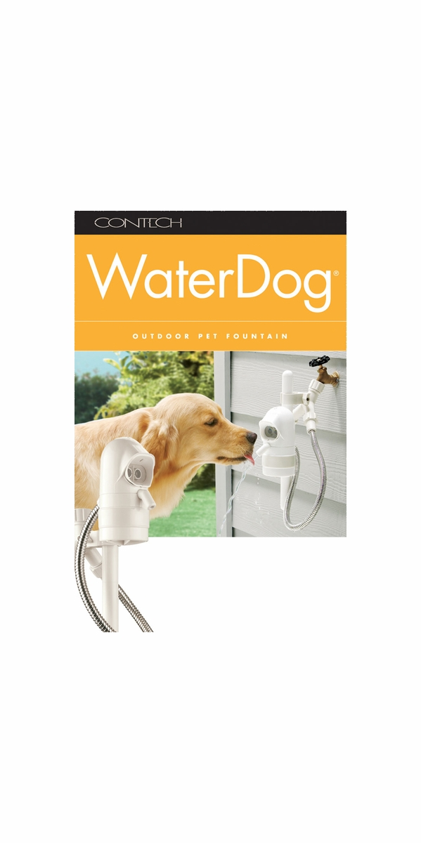 Contech Water Dog Automatic Outdoor Pet Fountain