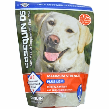 Cosequin? DS Plus MSM (120 Soft Chews) EntirelyPets