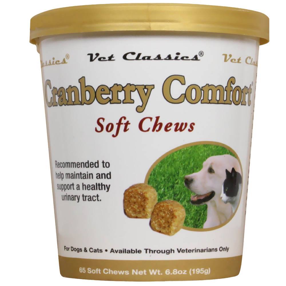 Cranberry Comfort for Dogs & Cats (65 Soft Chews)