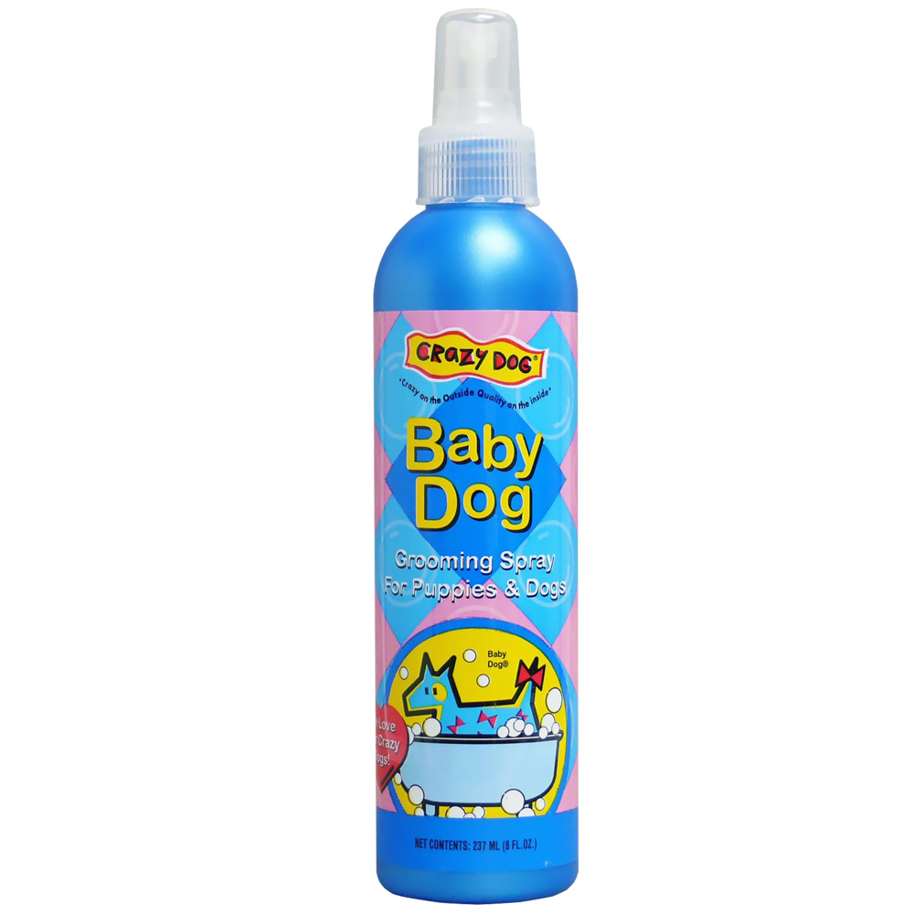 Crazy Dog Baby Dog Grooming Spray  (8 oz)