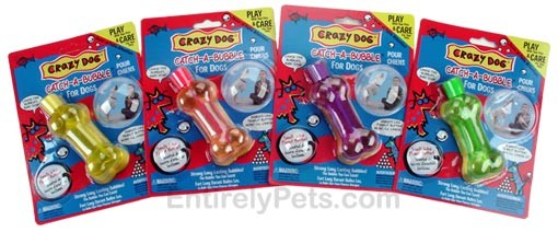 Crazy Dog Catch-A-Bubble Peanut Butter Scented Magic Bubbles (Assorted)