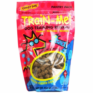 Crazy Dog Train-Me! Treats Bacon Flavor (1 lb)